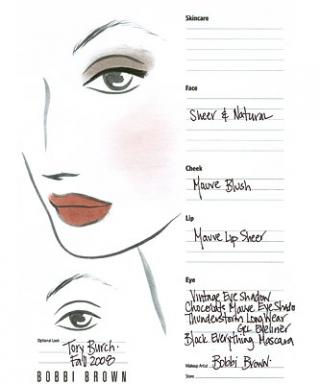See the Inspiration: Backstage Face Charts