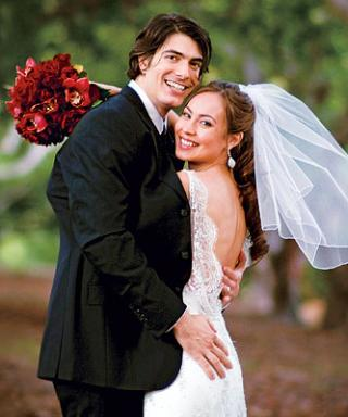 Celebrity Wedding: Brandon Routh & Courtney Ford