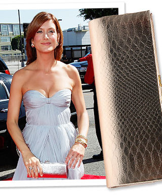 Kate Walsh Wears Aldo to the Emmys