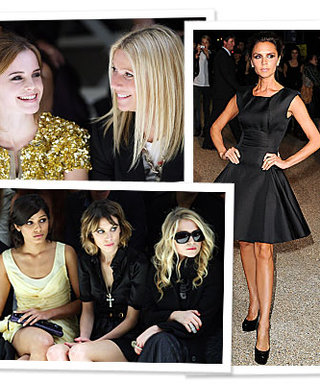 Burberry Prorsum Brings Out the Stars