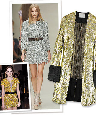 Spring Runway Trend to Try Now: Metallic Sequins