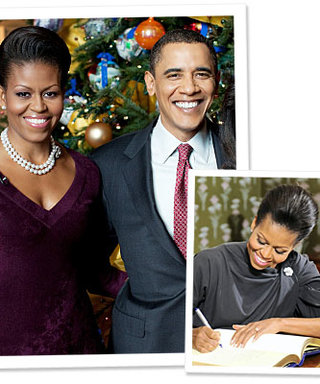 Michelle Obama's Anniversary Gems