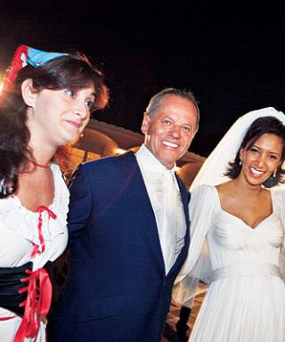 Celebrity Wedding: Gelila Assefa & Wolfgang Puck