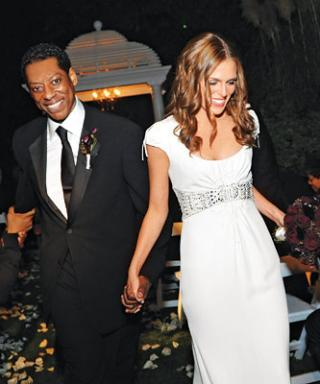 Celebrity Wedding: Orlando Jones & Jacqueline Staph