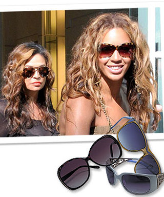 Beyonce Designs Sunglasses