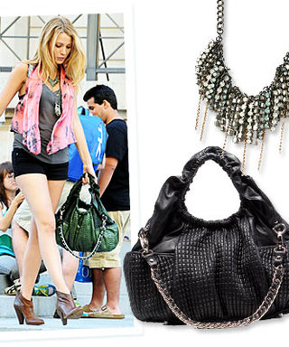 Style On Set: Blake Lively Wears Edgy Accessories