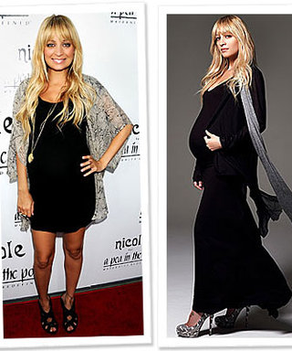 Nicole Richie's Healthy Pregnancy Philosophy—Just Do it!