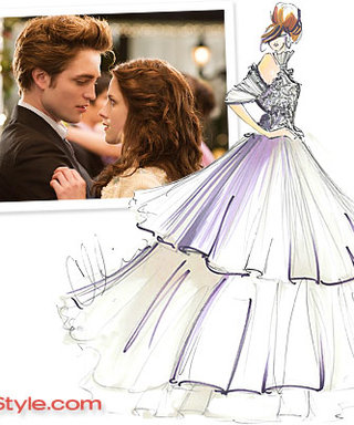 TWILIGHT EXCLUSIVE: Designers Sketch Bella's Wedding Dress