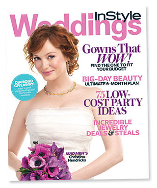 InStyle Weddings Cover Girl: Christina Hendricks