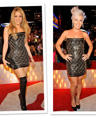 Shakira and Pink Wear the Same Dress to the VMAs