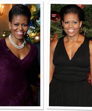 Michelle Obama's Holiday Style