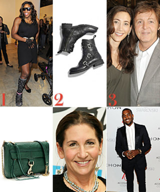 Serena Bedazzled Her Cast, Jimmy Choo Returns to Men's Footwear, and More!