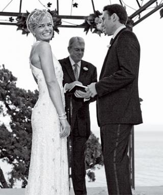 Jaime Pressly's Wedding Scrapbook