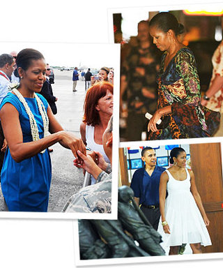 Michelle Obama's Hawaiian Style