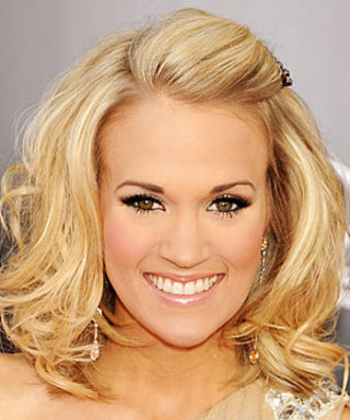 Carrie Underwood's Wedding Lashes