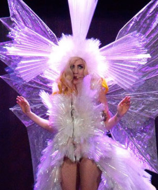 """Watch Lady Gaga's """"Living Dress"""" Come To Life"""