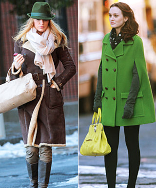 Serena and Blair's Matching Totes on Gossip Girl
