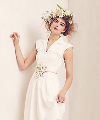 Anthropologie Debuts Wedding Gowns