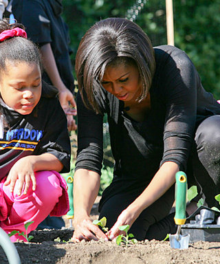 Michelle Obama Goes Garden Chic