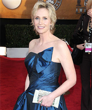Glee's Jane Lynch on Her Wedding Ring and Tux
