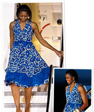 Mrs. O Wears Red, White & Blue