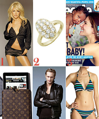 Sandra's Baby Boy, Vuitton Does iPad, and More!