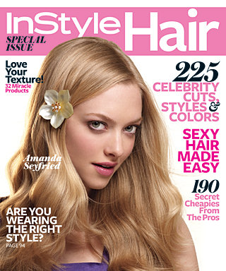 Our Special Hair Issue Cover Girl Is...Amanda Seyfried!