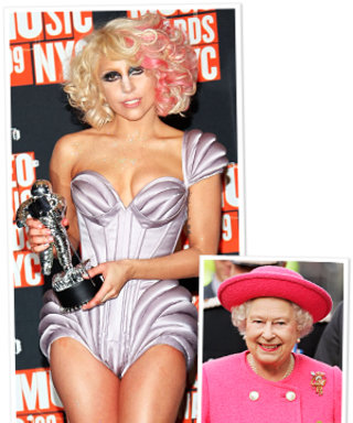 Lady Gaga Shares The Queen's Taste in Undergarments
