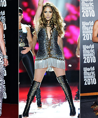 J.Lo's Sexy Cavalli Looks at the World Music Awards