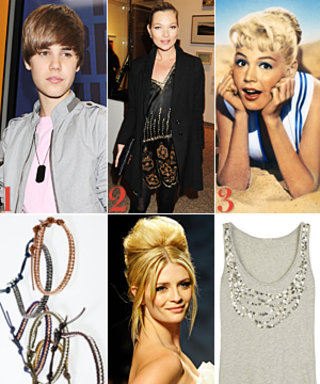 Bieber's BET Nod, Kate Moss Gleeks Out, and More!
