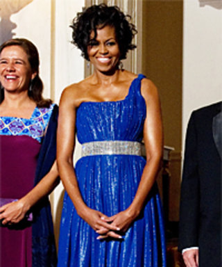 First Lady Stuns at State Dinner