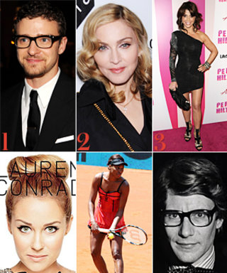 Justin Timberlake Designs Shades, Idol Courts Madonna, and More!