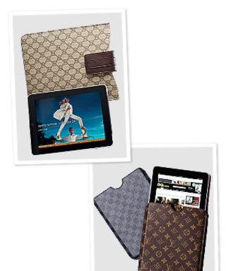 Gucci & Louis Vuitton Debut iPad Couture