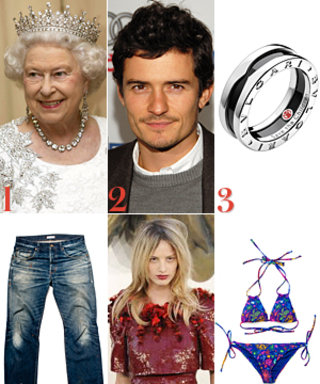 The Queen's Favorite Dress, Orlando Bloom's New Gig, and More!