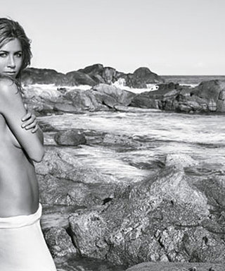 Jennifer Aniston Shows Off Sexy Body in Fragrance Campaign