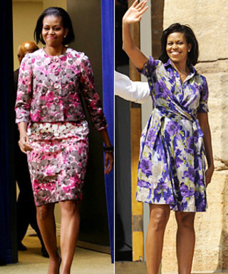 Get Michelle Obama's Moschino on Gilt Groupe Now!