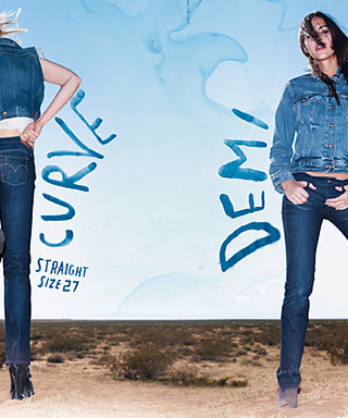 Levi's Debuts Jeans to Fit Your Shape, Not Your Size