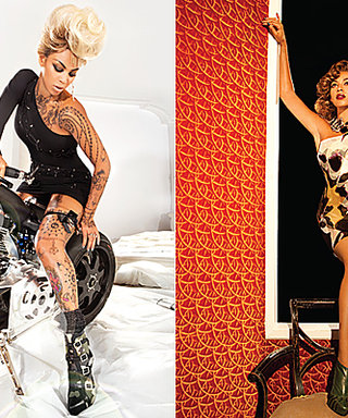 Beyonce Models Double-Header for House of Dereon