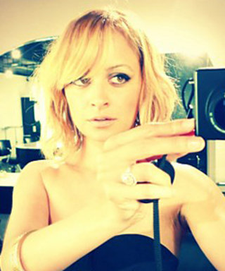Nicole Richie Debuts New Blond Bob