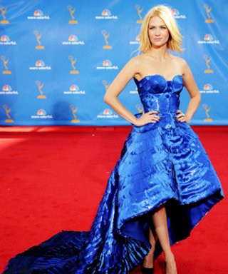 "January Jones Dishes on Her Versace Gown: ""I just felt like a bird!"""