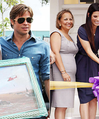 Brad Pitt & Sandra Bullock Make a Difference in New Orleans