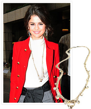 Selena Gomez in LOFT's Chic, Affordable and Charitable Jewels