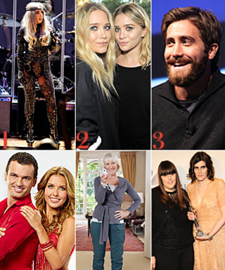 Lady Gaga Sports a Sheer Catsuit, The World's Most Famous Twins, and More!
