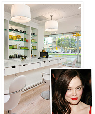 Rose McGowan Invests in a New Blowout Salon