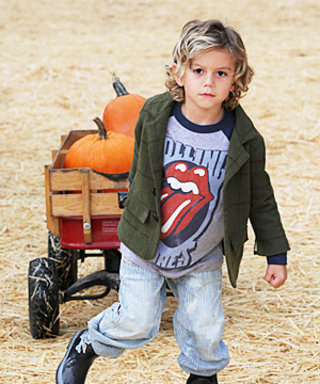 Stars & Their Cute Kids Hit the Pumpkin Patch!