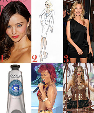 Miranda Kerr's Lost Wedding Dress, Armani Brings Back the Power Suit, and More!