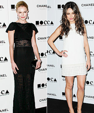 Stars Wear Black and White to MOCA's Annual Gala