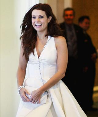 Joanna Garcia's Wedding Wardrobe