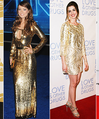 Red-Carpet Trend: Stars Dripping in Gold