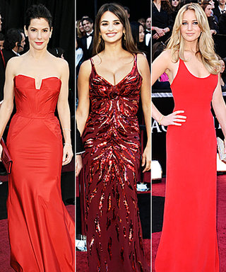 Oscars Trend: Red